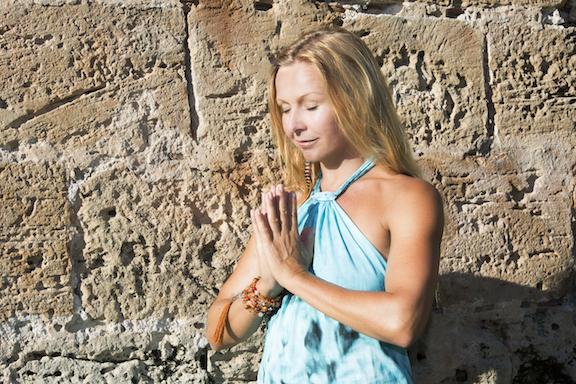 Yin-Yogalehrer mit Miriam Wagner